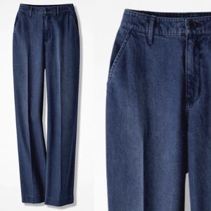 COLDWATER CREEK Tailored Denim Trousers Jeans